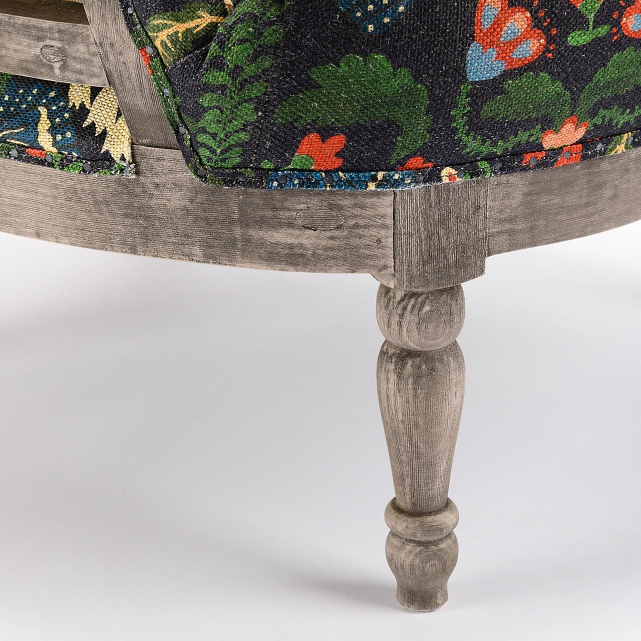 LOUIS DECONSTRUCTED CHAIR - ZABOLA Linen