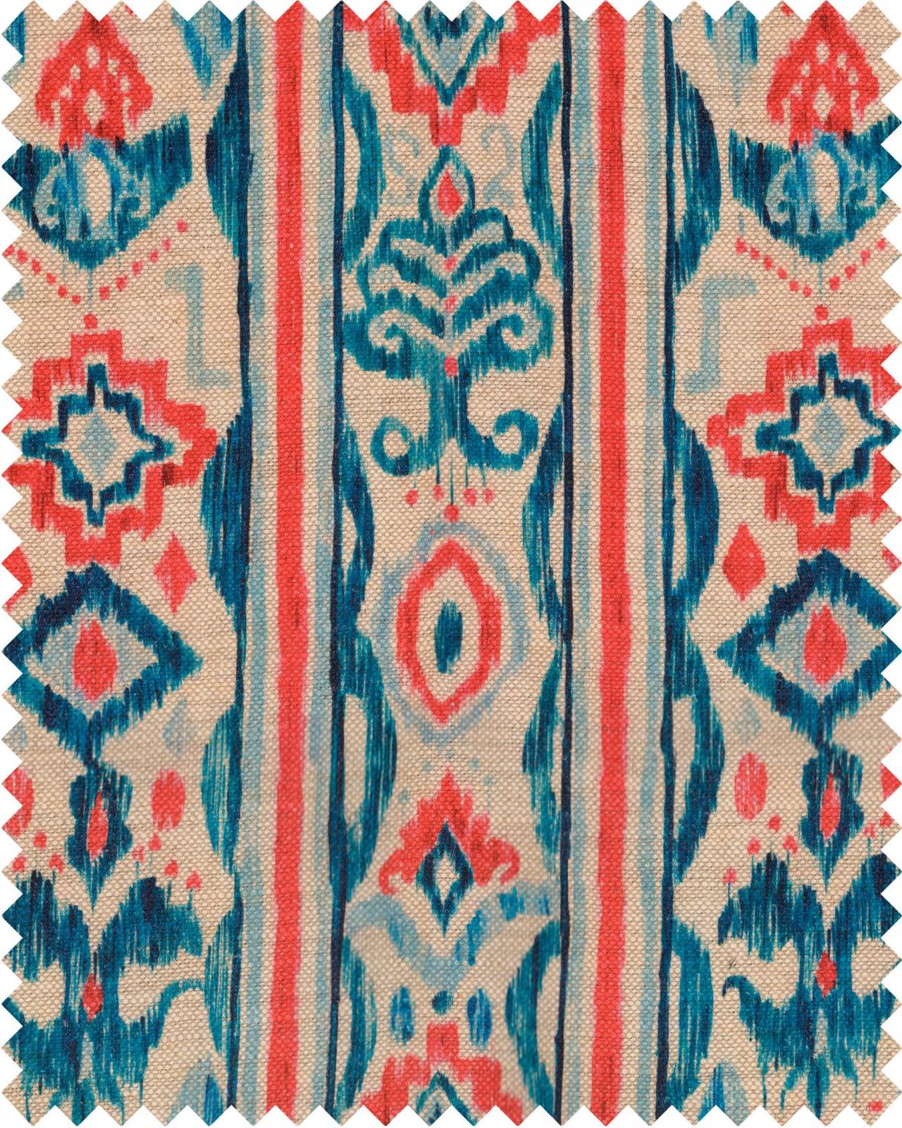 MEDITERRANEO IKAT Linen Sample
