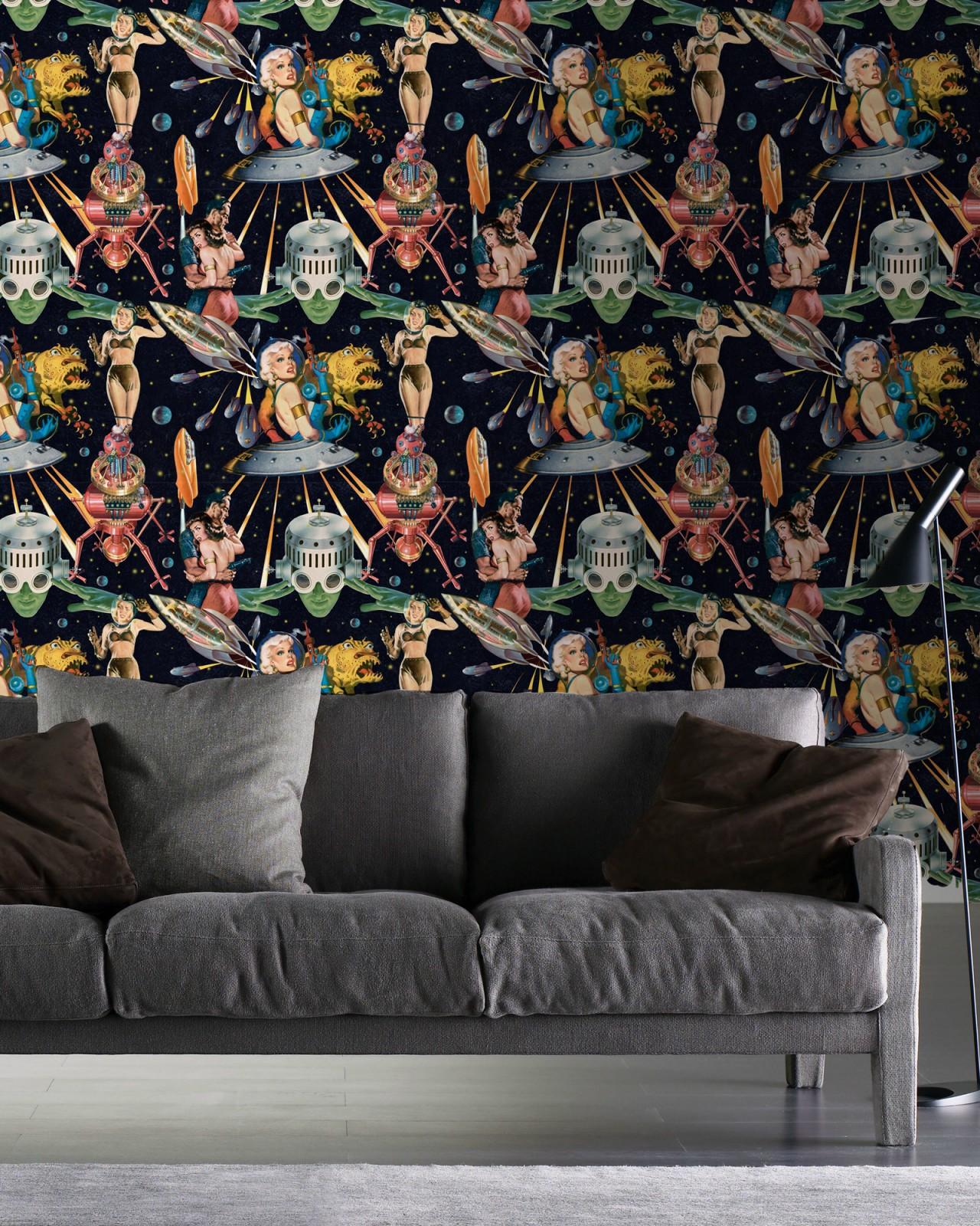 OTHER WORLDS Premium Wallpaper