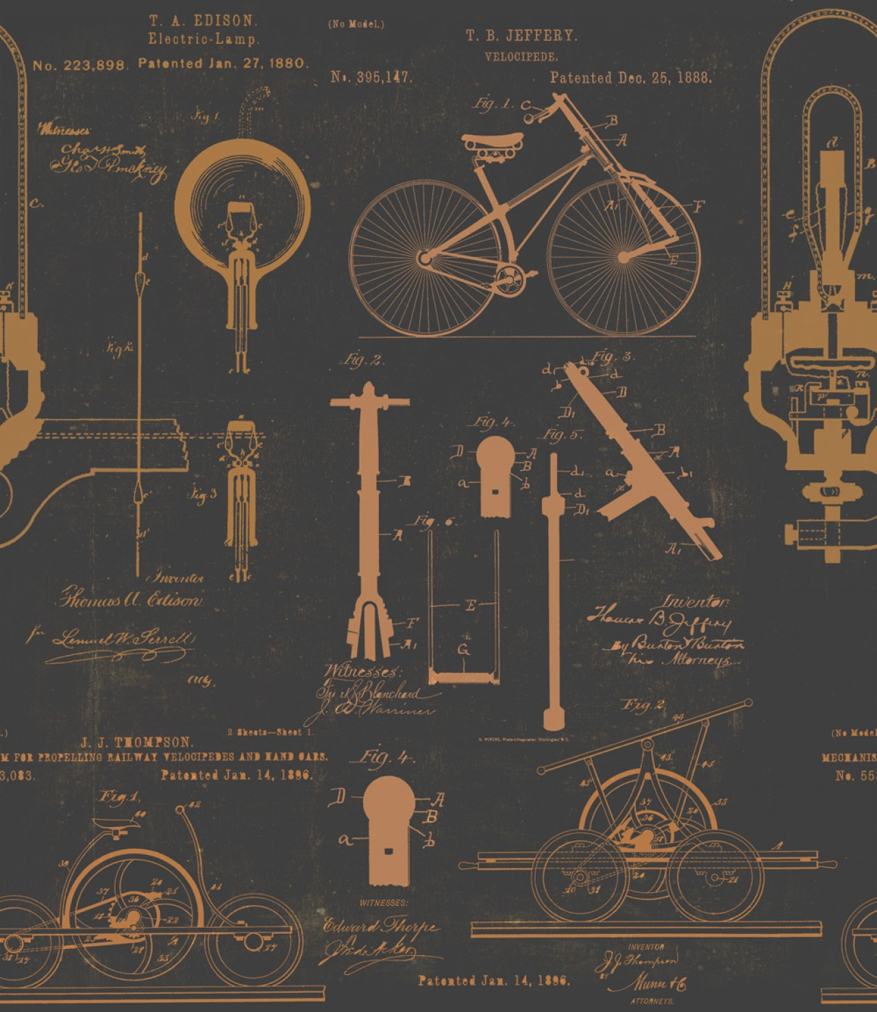 PATENTS Premium Wallpaper