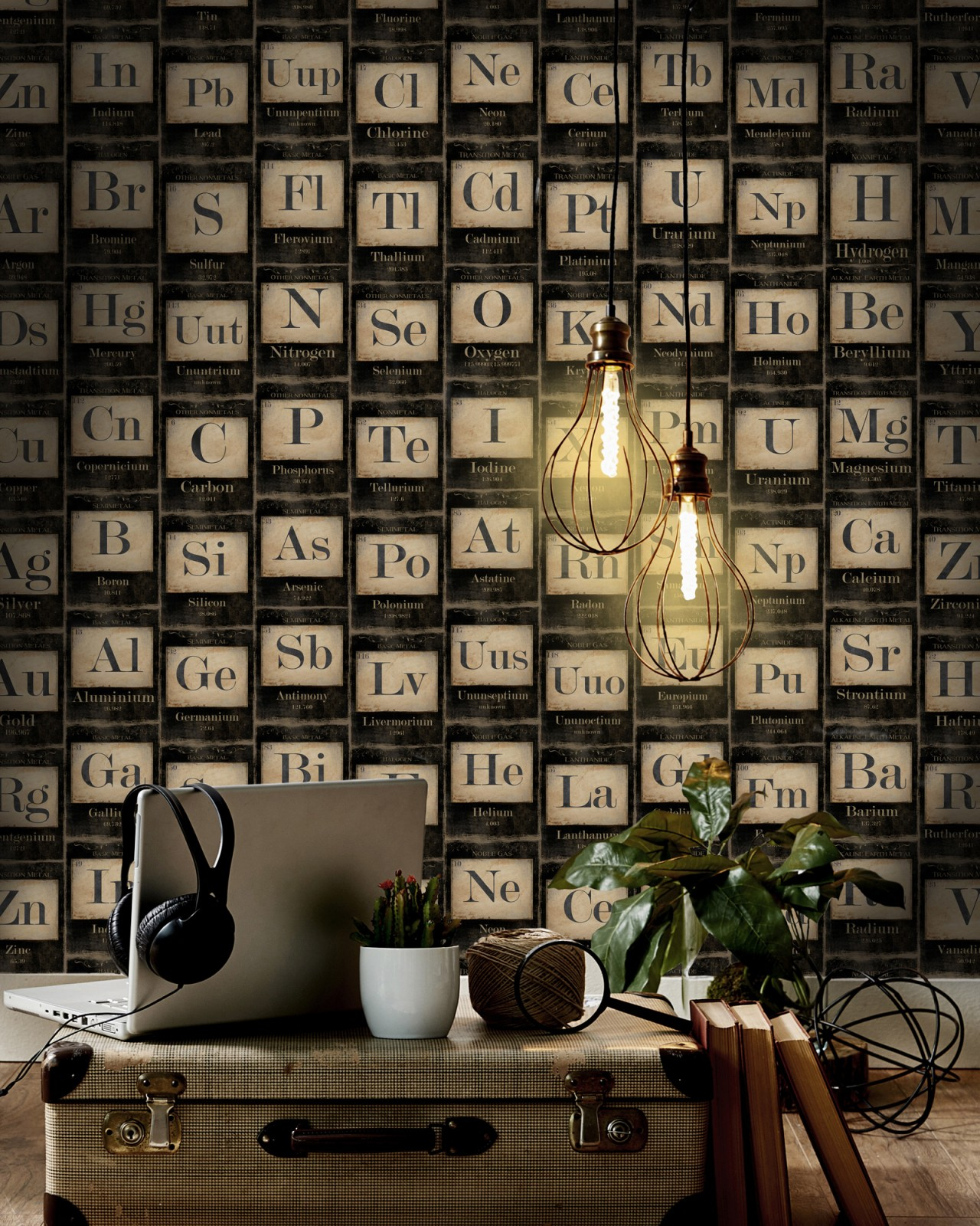 PERIODIC TABLE OF ELEMENTS Premium Wallpaper