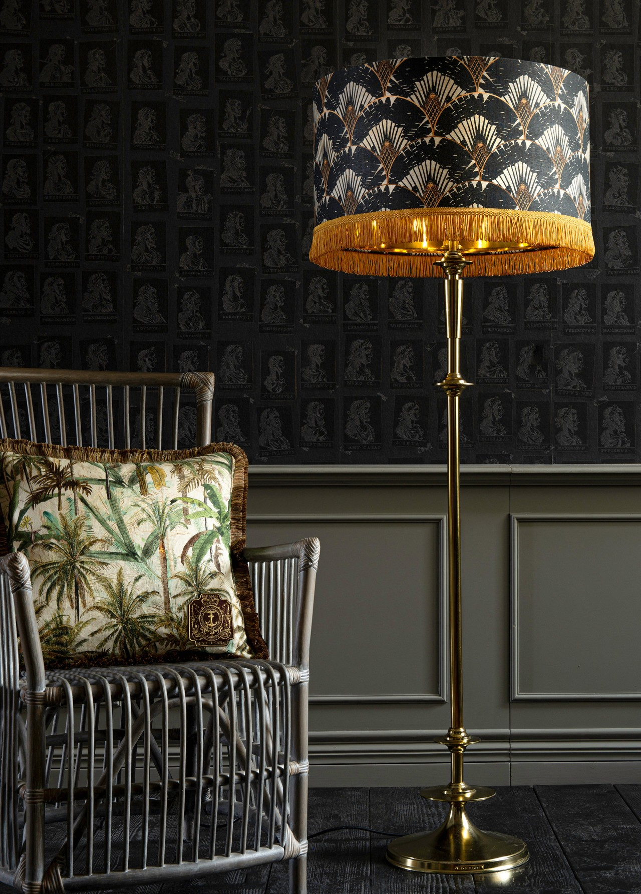 RAVENALA Dark Lampshade