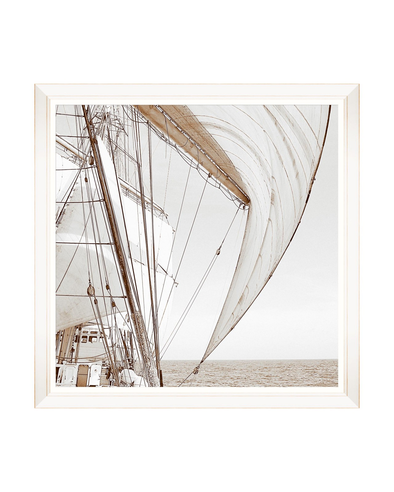 SAILING HIGH I Framed Art