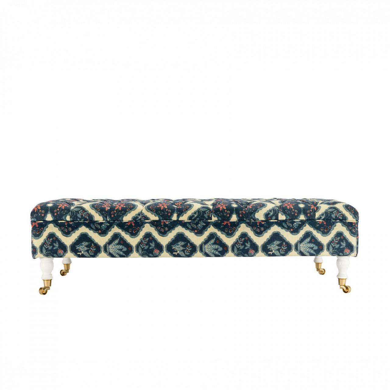 SARAY Ottoman - PHOENICIA BATIK Fabric
