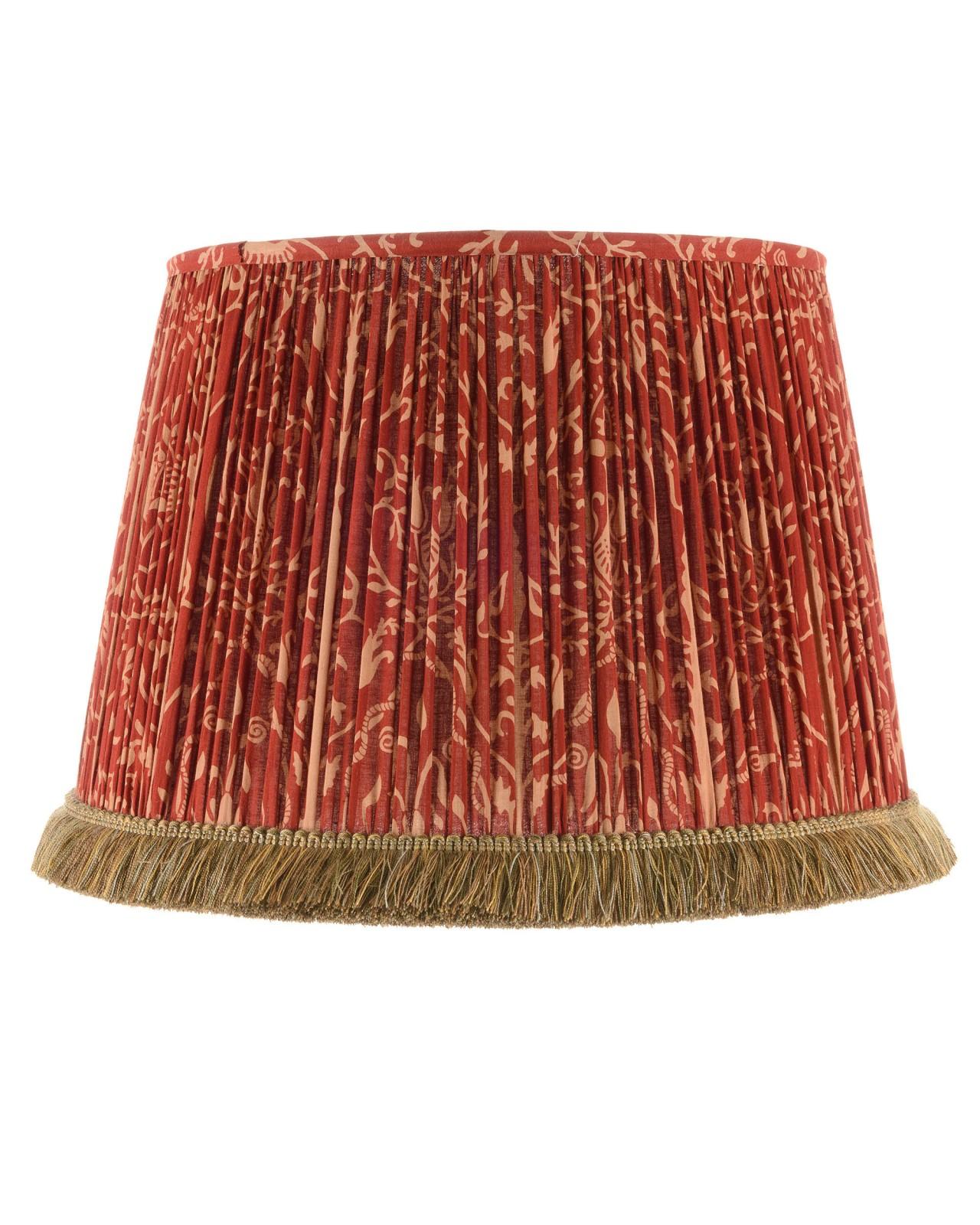 SAXON ORNAMENT Pleated Lampshade