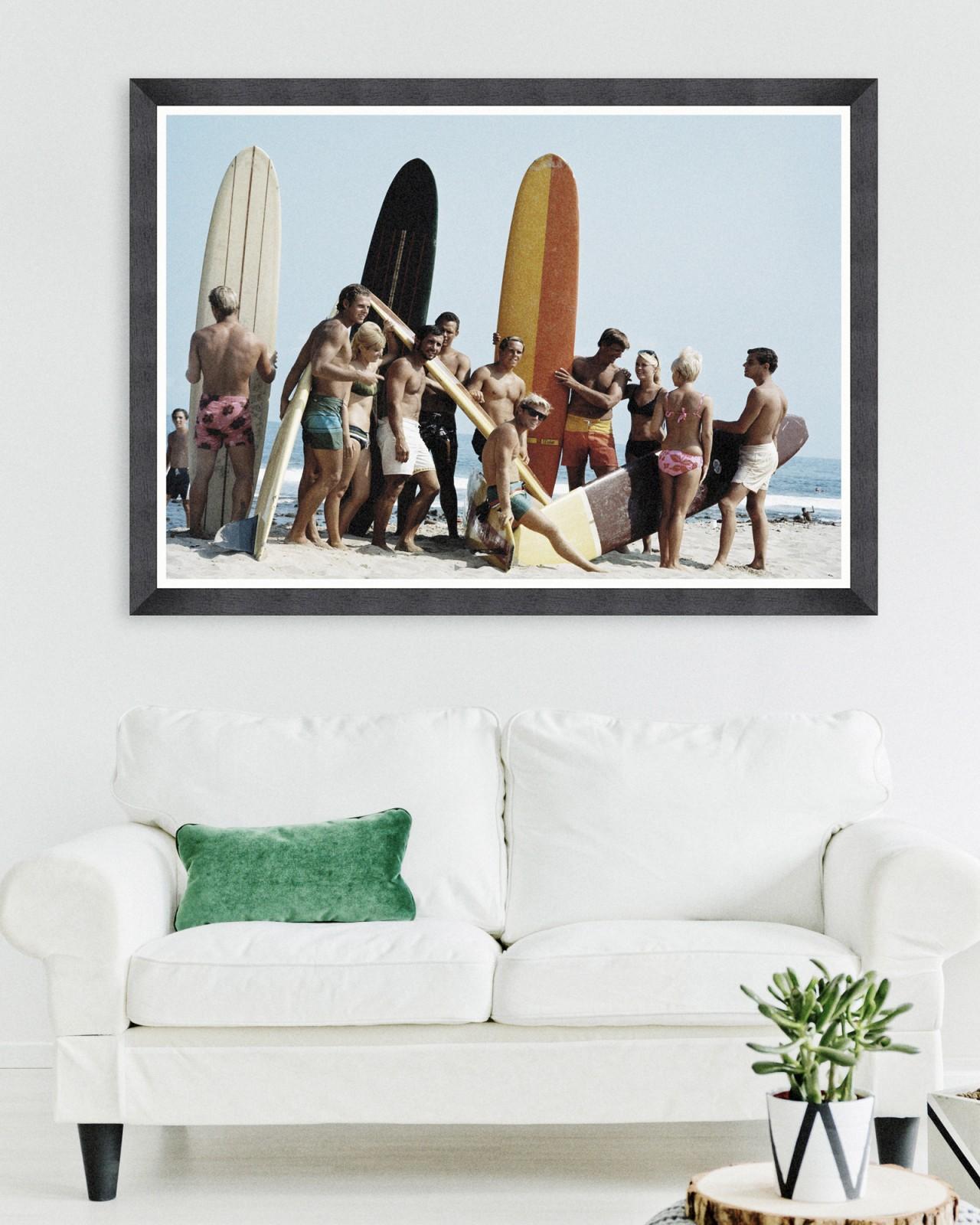 SURFERS BY KELLEY ARCHIVE Framed Art