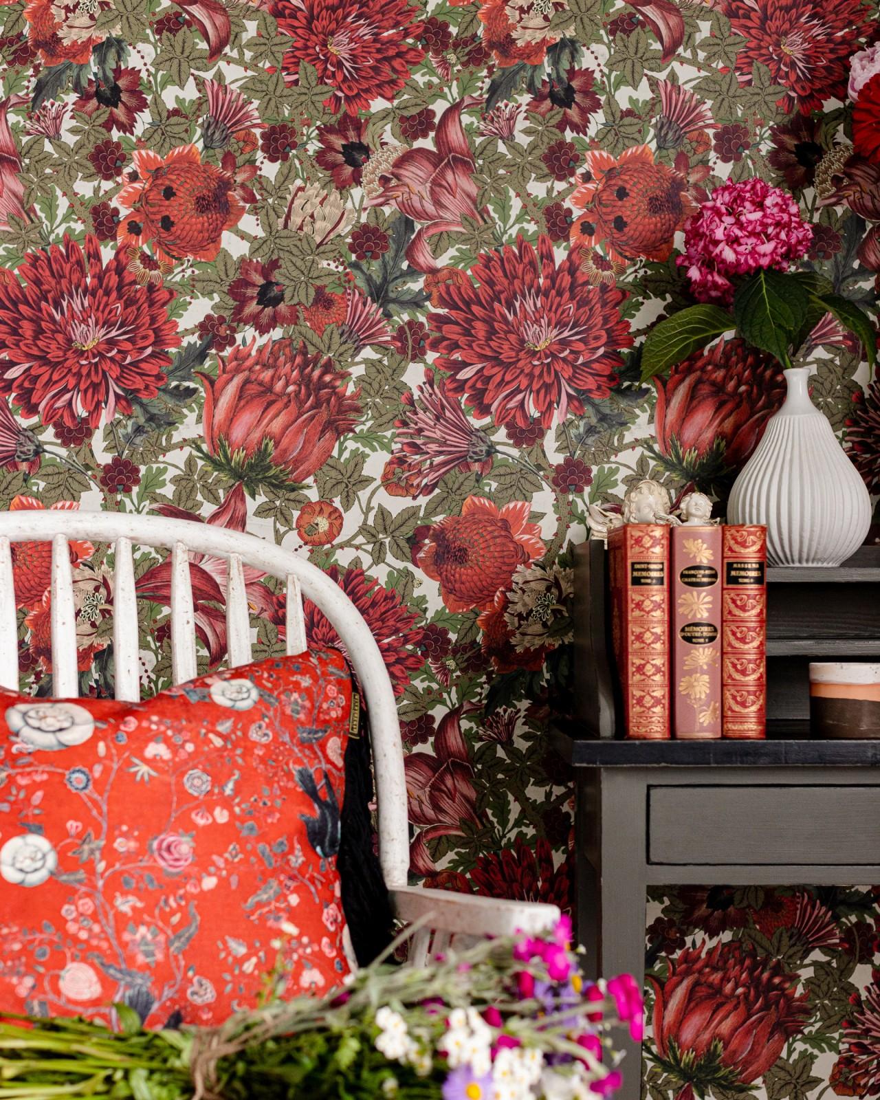 THE FLOWERING Wallpaper