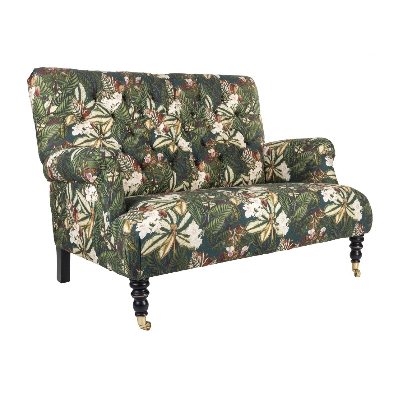 TRUMAN Sofa - ORCHID BLOOM Linen
