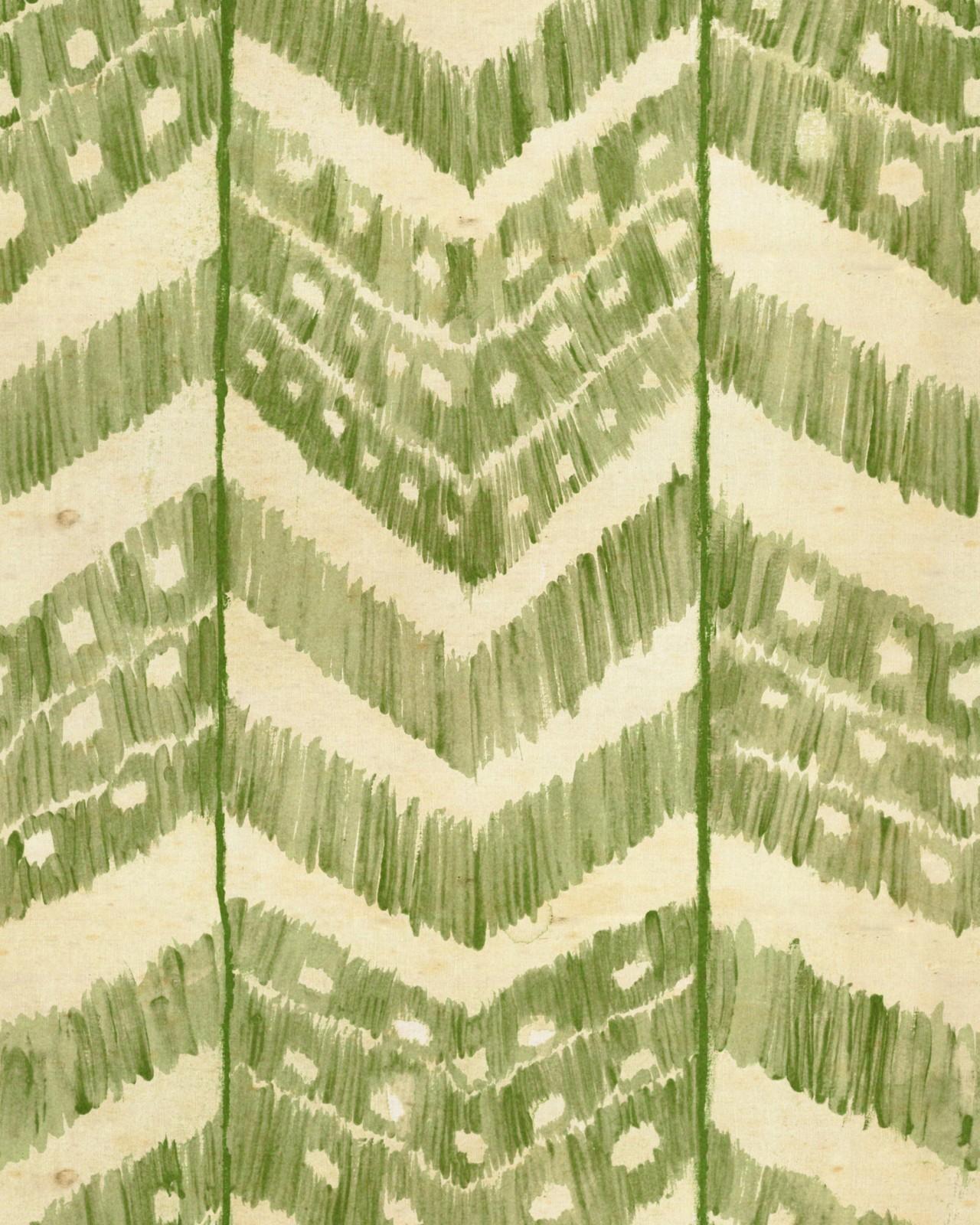 TURKISH IKAT Foliage Wallpaper
