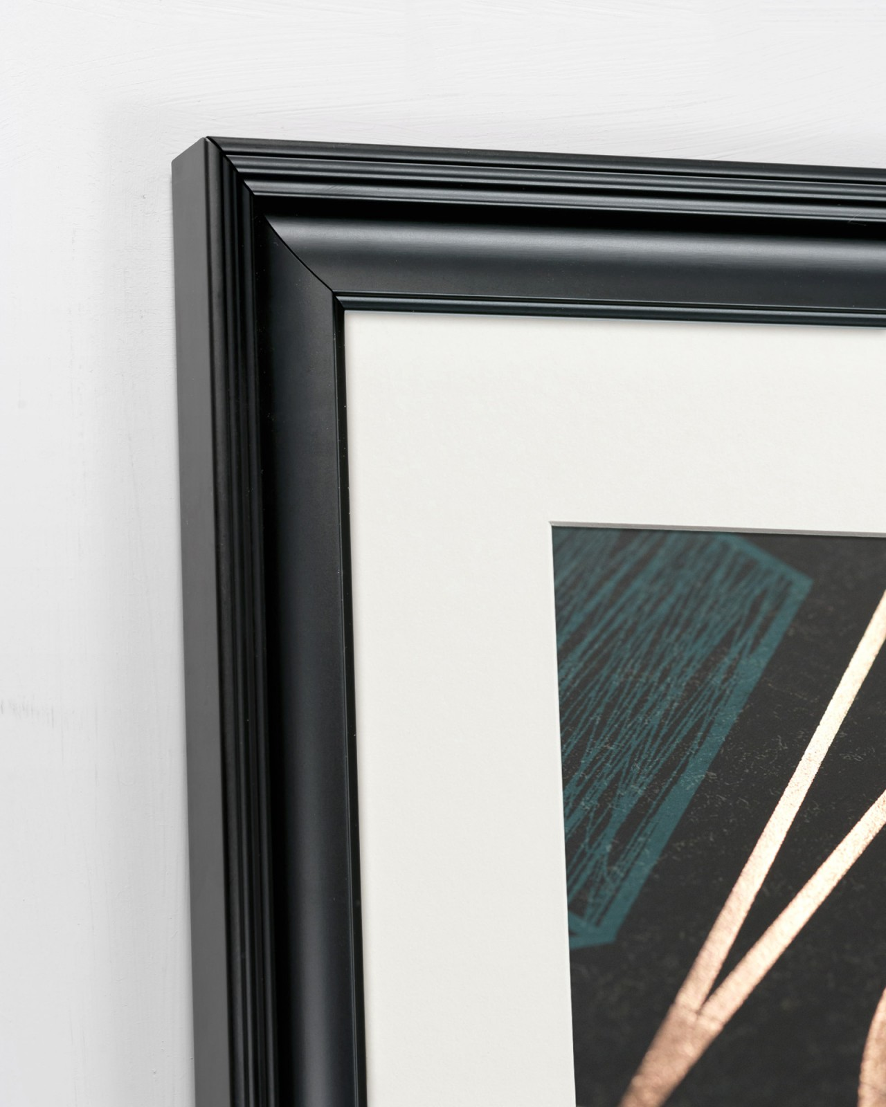 COPPER GEOMETRY Framed Art
