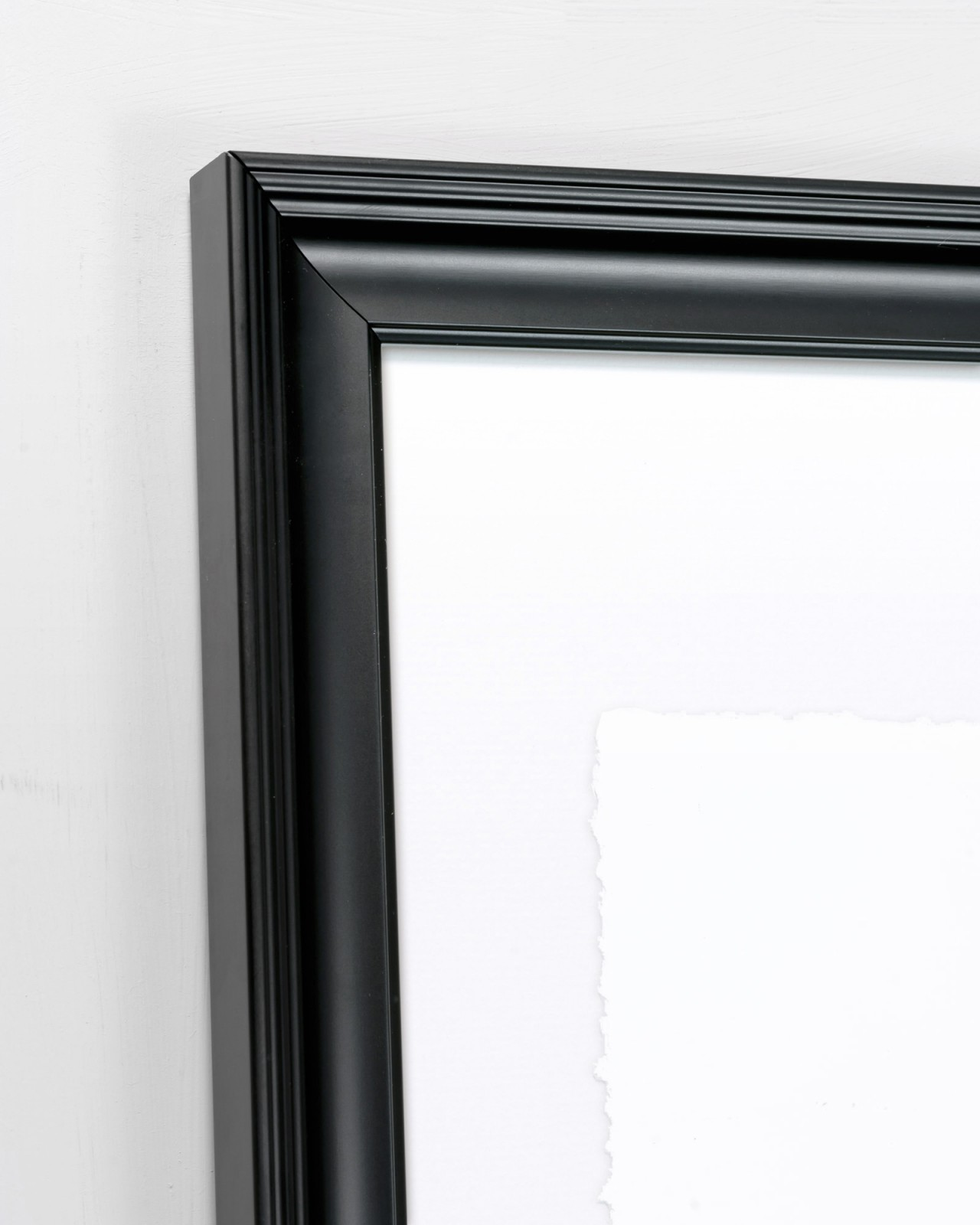 GESTURAL ABSTRACTION II Framed Art