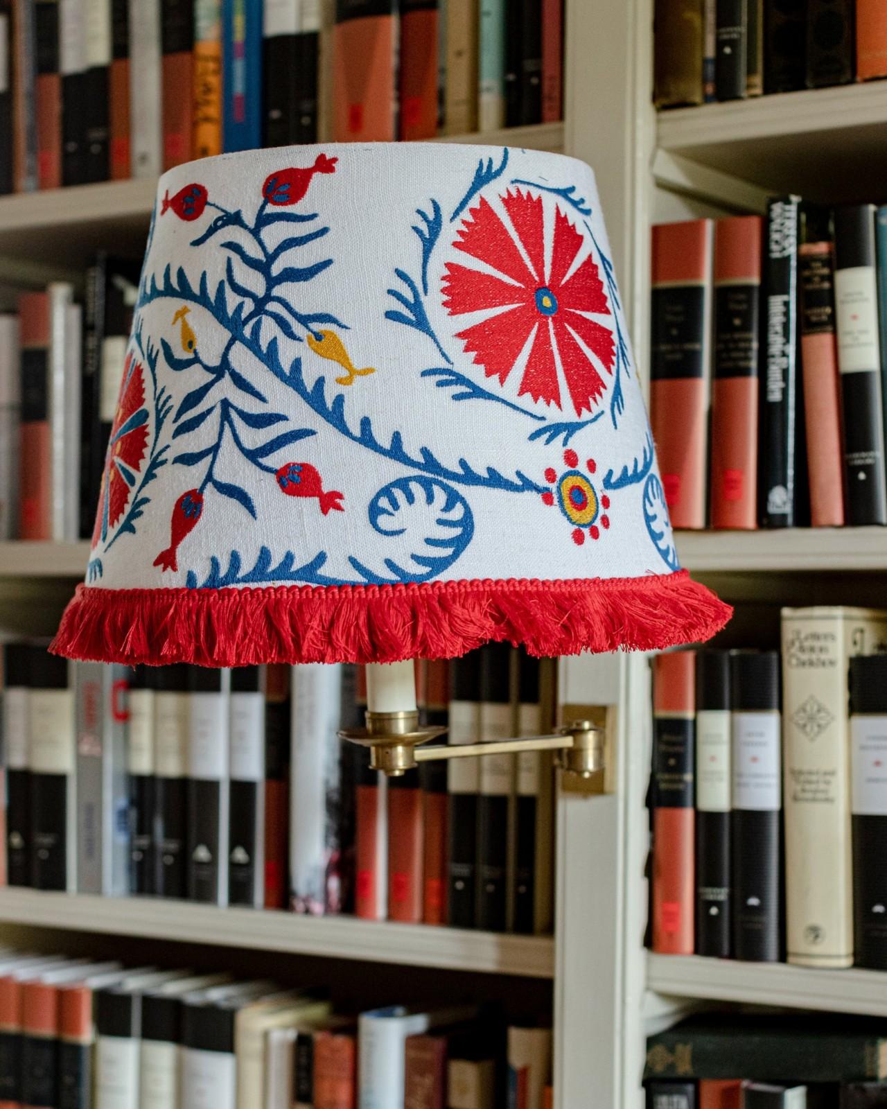 VIRAGOS Embroidered Lampshade