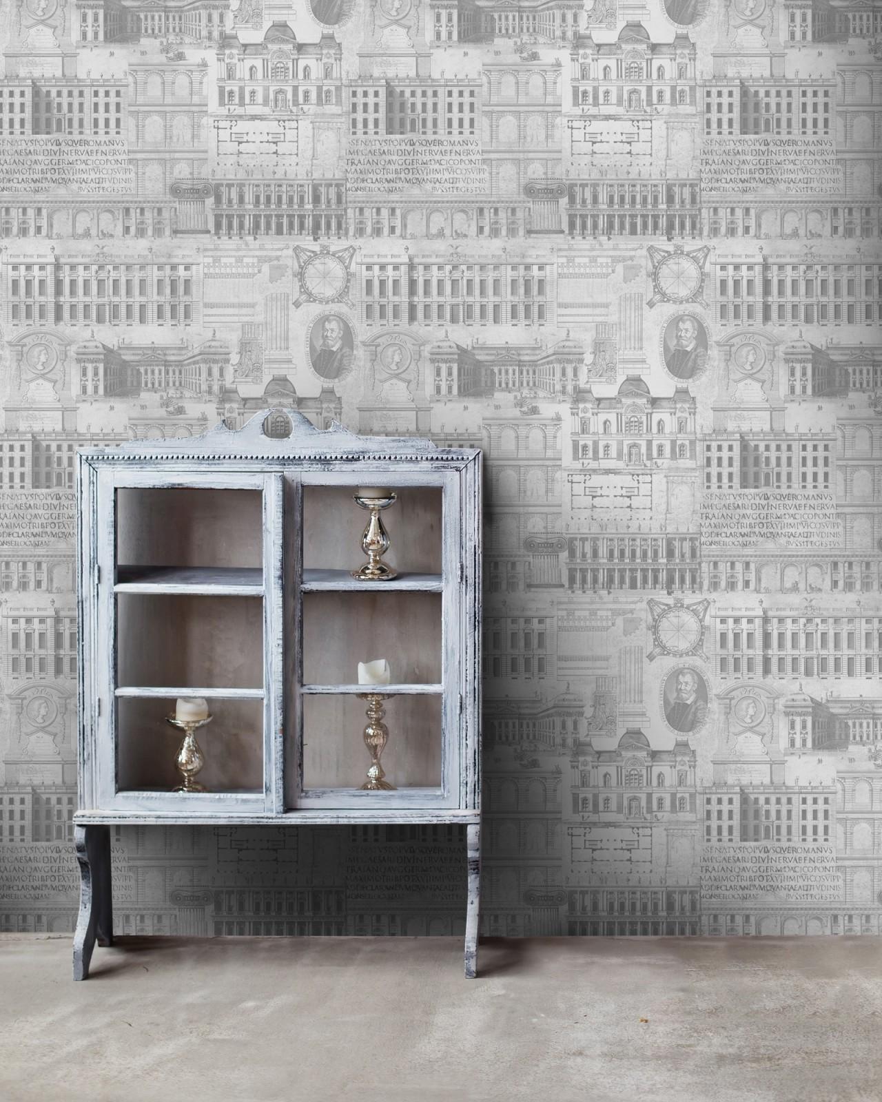 VITRUVIUS Neutral Premium Wallpaper