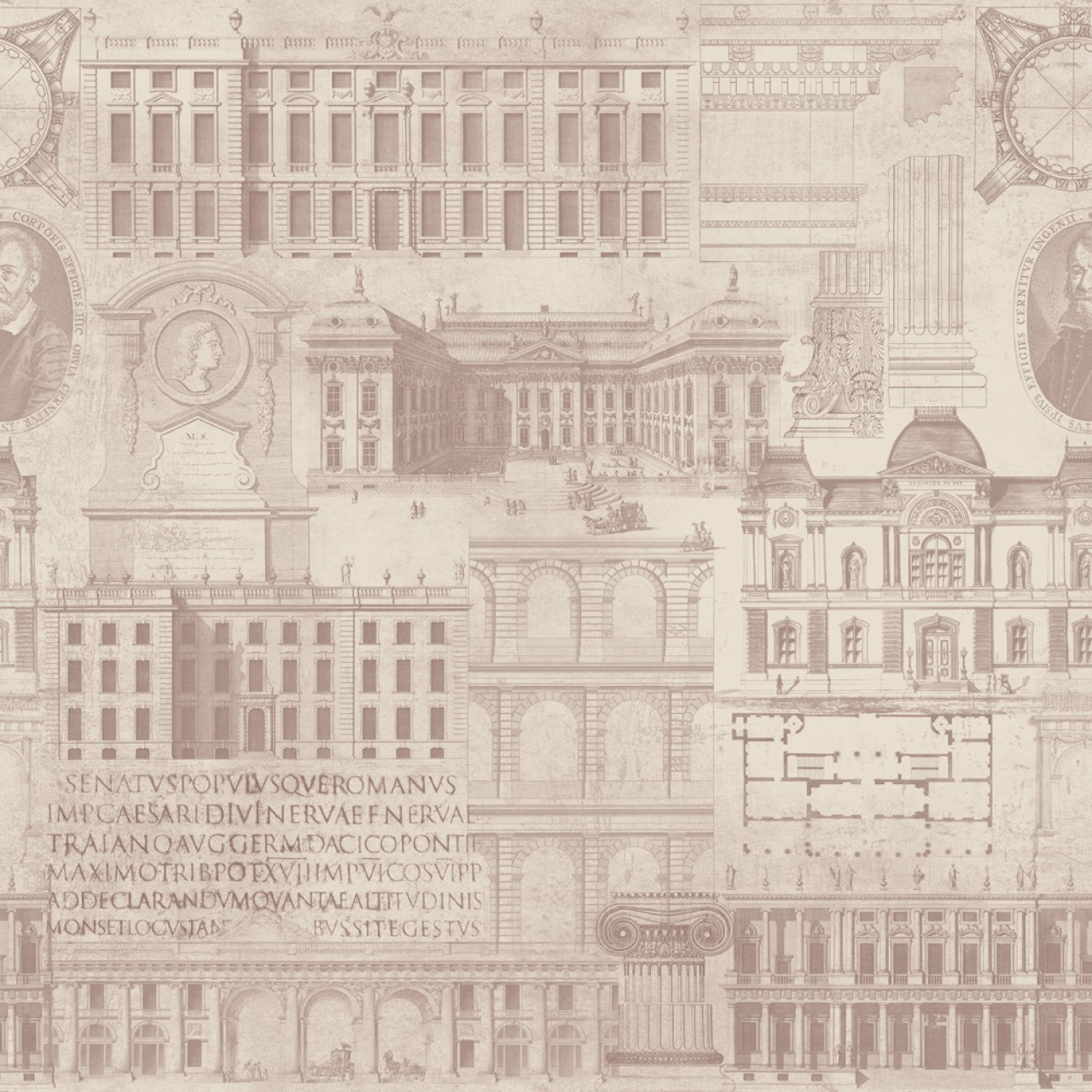 VITRUVIUS Premium Wallpaper