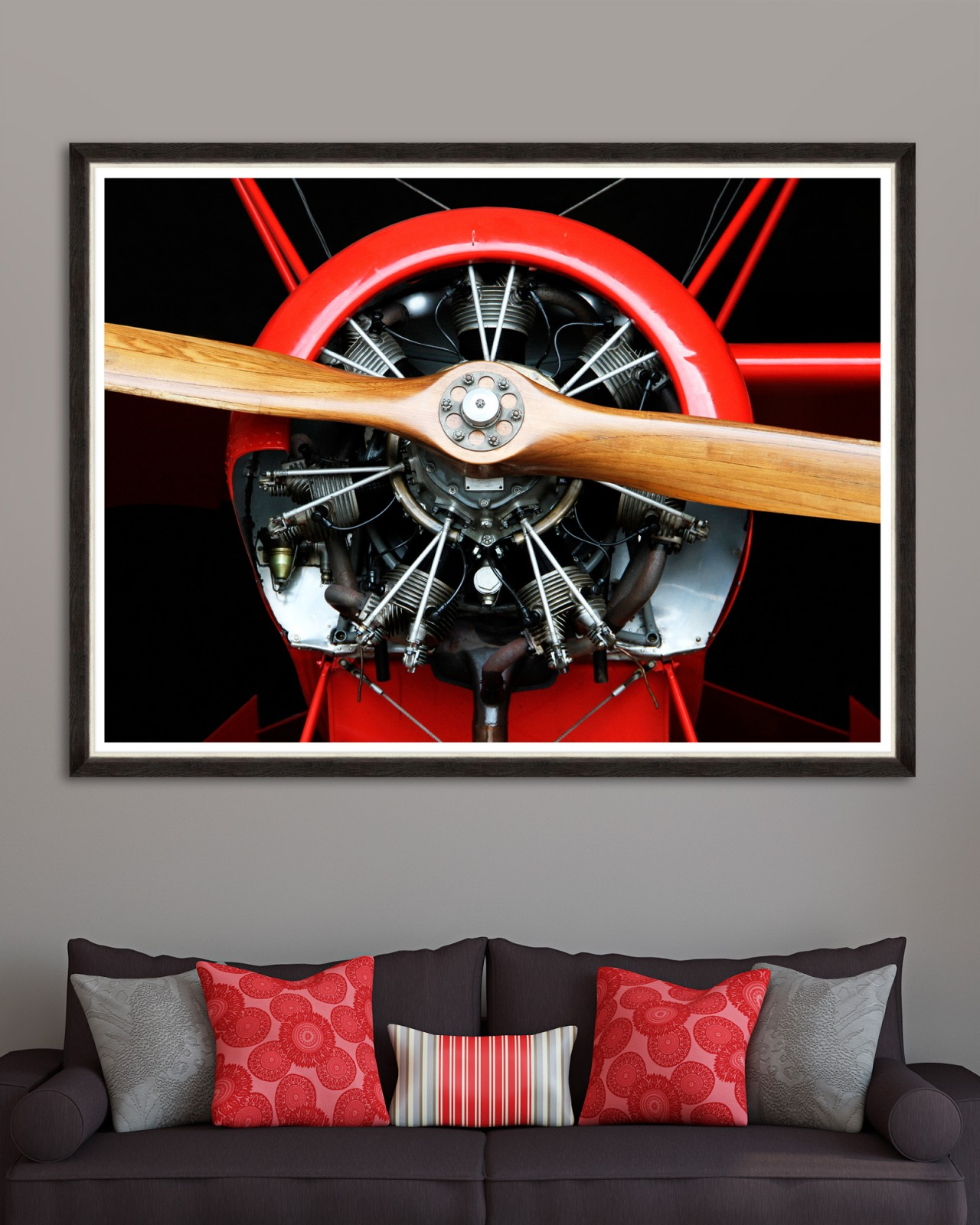 WOOD PROPELLER Framed Art