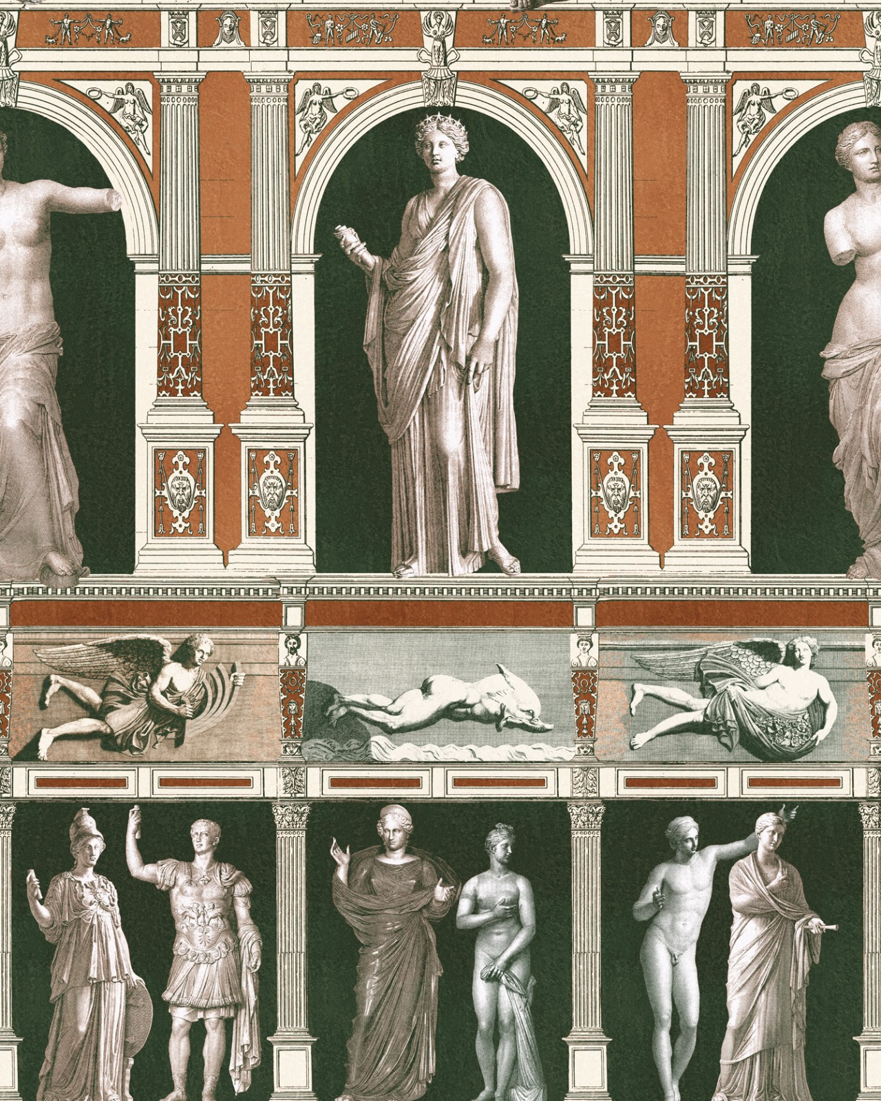 STATUES ANTIQUE Wallpaper