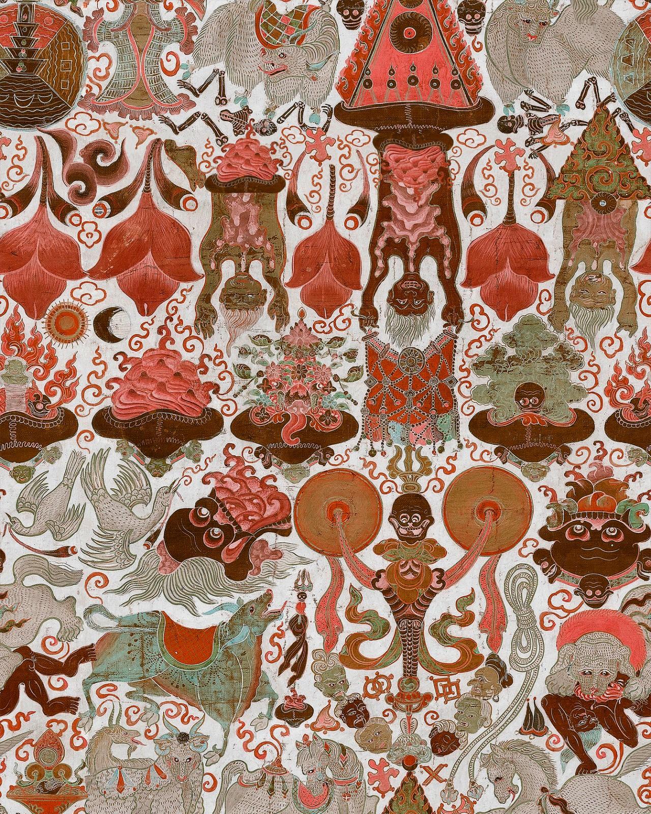 YAMA DHARMARAJA Light Wallpaper