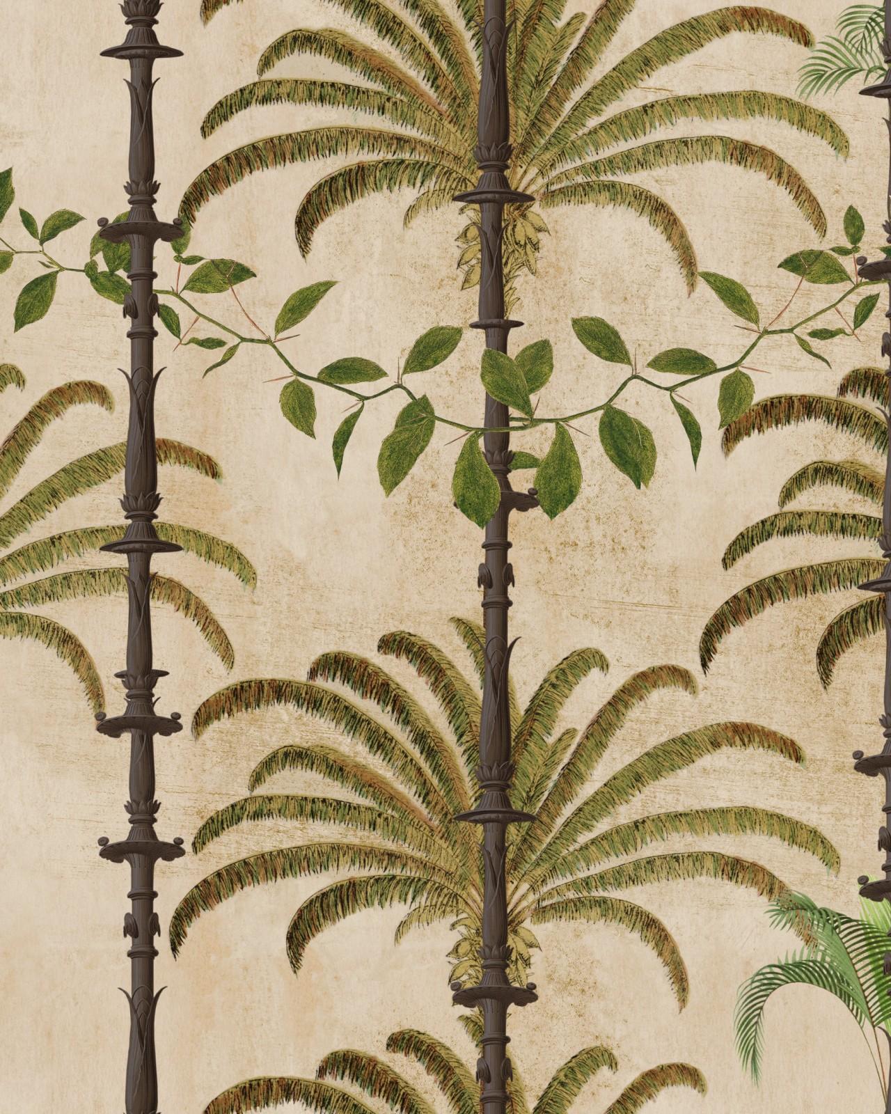 HAVANA Taupe Wallpaper