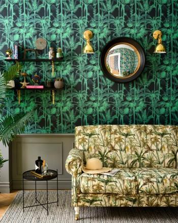 PALMERA CUBANA Dark Wallpaper