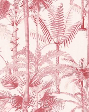 PALMERA CUBANA Pink Wallpaper