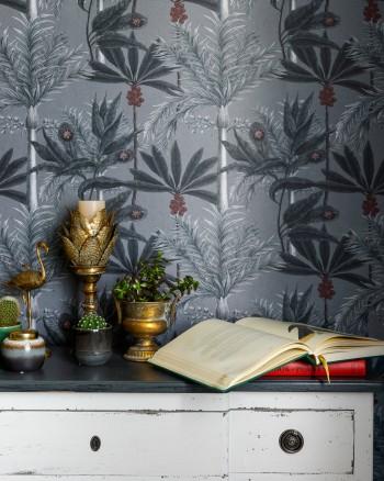 MADAGASCAR Grey Wallpaper