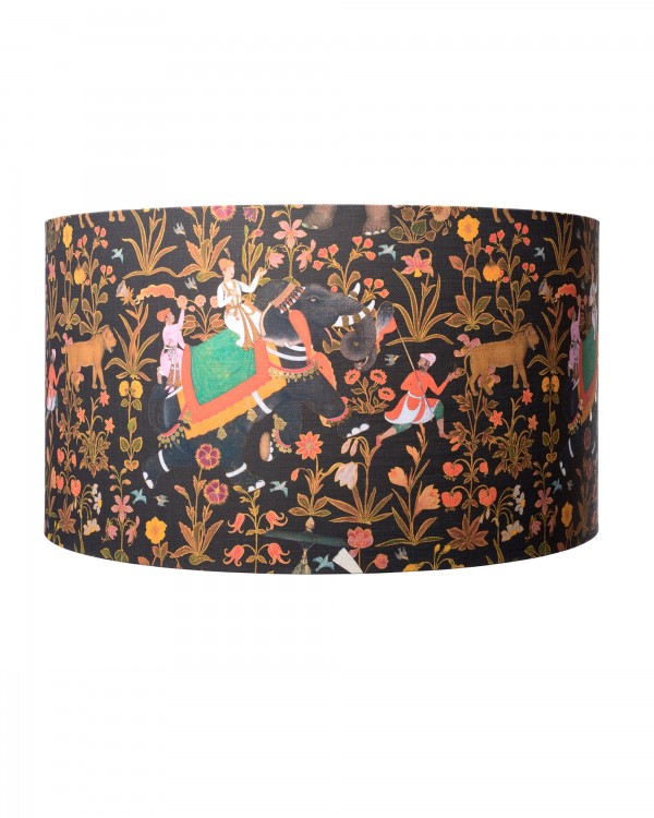 HINDUSTAN Anthracite Lampshade