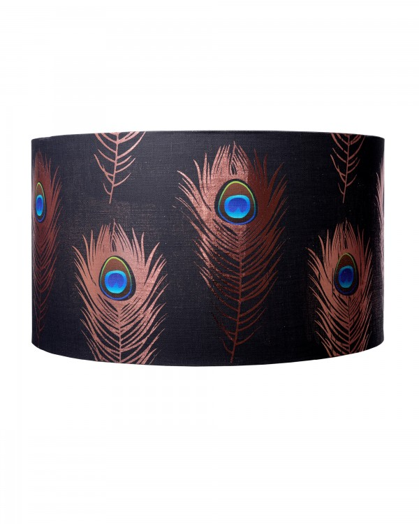 PEACOCK FEATHERS Lampshade