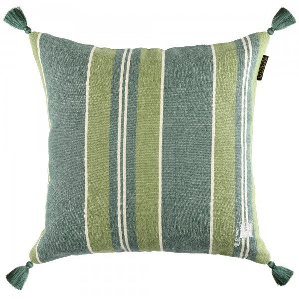 SZEPVIZ Stripe Heavy Linen Cushion