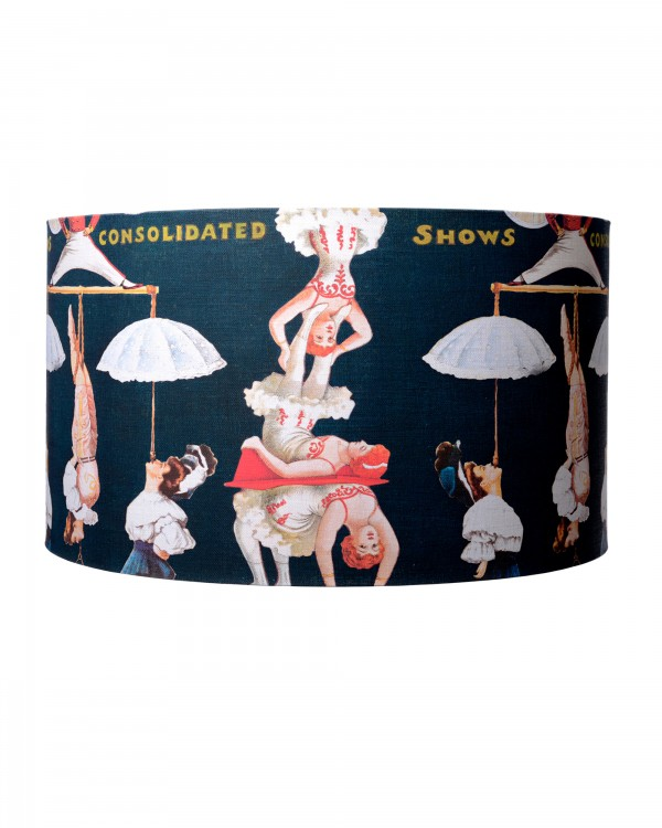 THE GREAT SHOW Black Lampshade