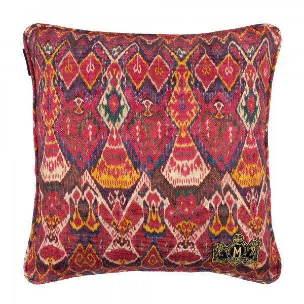 UZBEK IKAT Linen Cushion