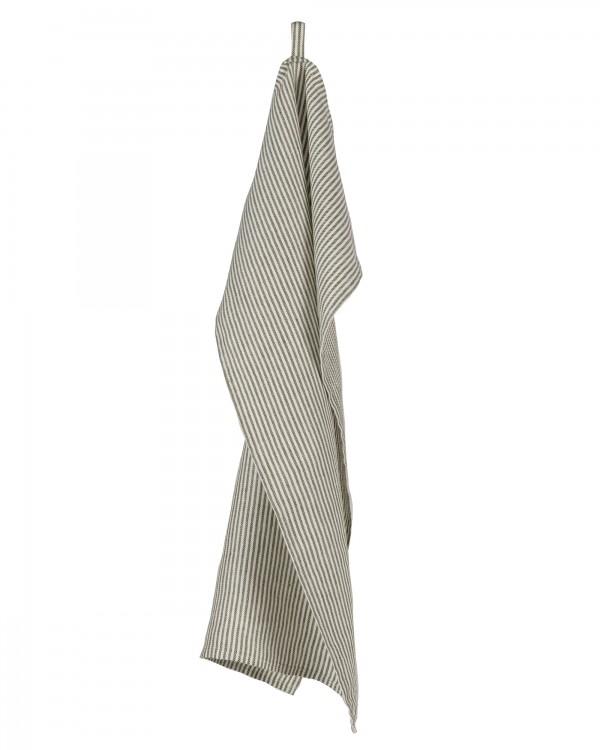 TWILL STRIPE GREEN Towel Set