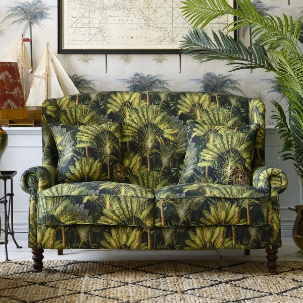 ABIGAIL Sofa - TRAVELLER'S PALM Linen