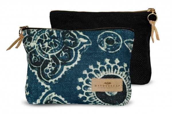 AJRAK Linen Wash Bag
