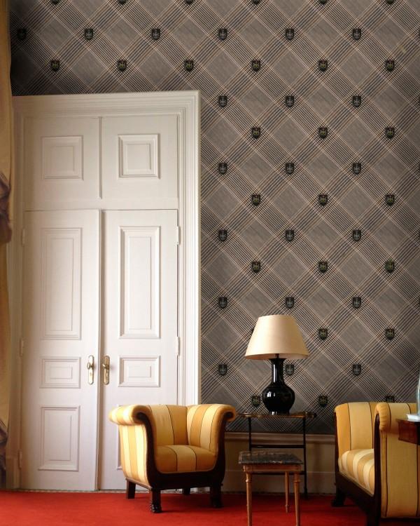 NOBILITY Grey Wallpaper