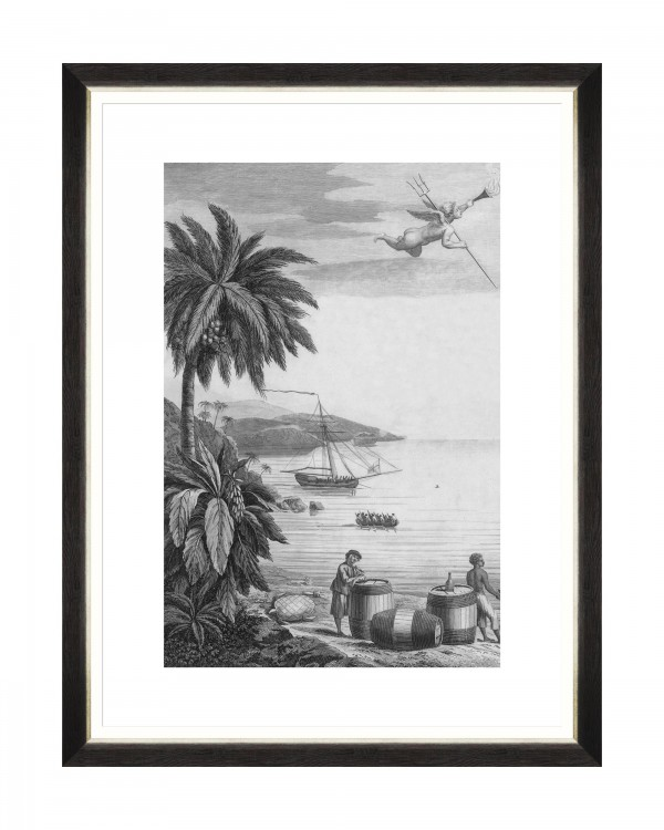 COLONIAL PORT I Framed Art