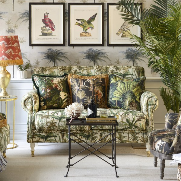 EDINBURGH Sofa - THE JUNGLE Linen