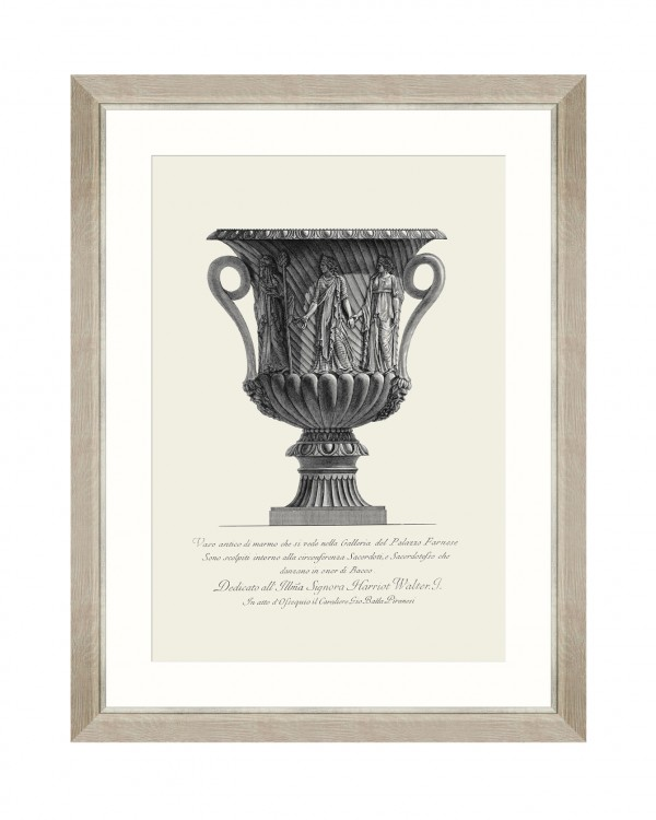 ANTIQUE URN I Framed Art