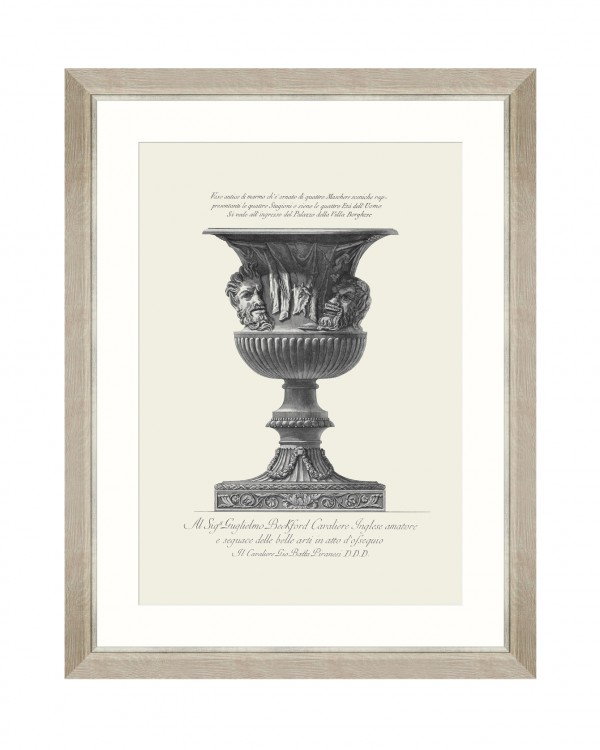 ANTIQUE URN III Framed Art