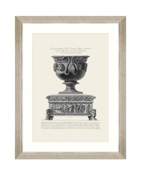 ANTIQUE URN VI Framed Art