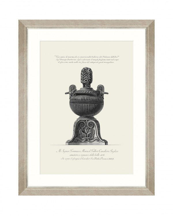 ANTIQUE URN IX Framed Art