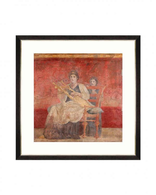 POMPEII WALL FRESCO I Framed Art