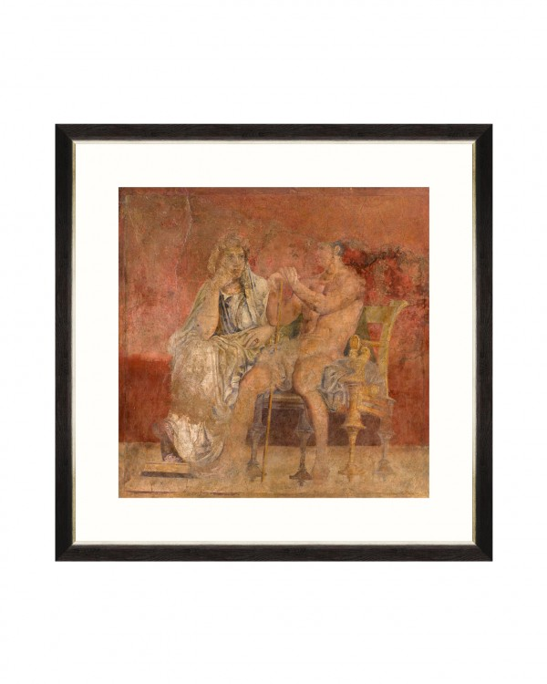 POMPEII WALL FRESCO II Framed Art
