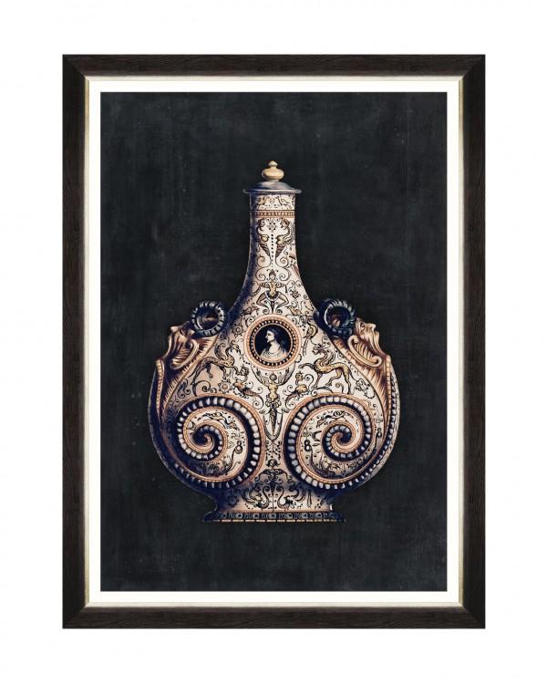 ARABIAN VASES III Framed Art