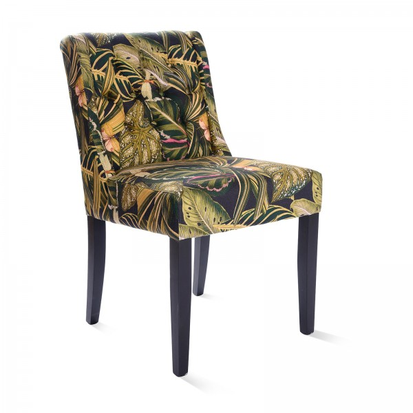 TUFTED CHAIR - Amazonia Linen