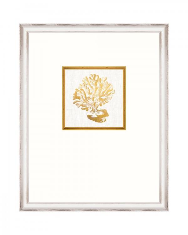 CORAL Framed Linen