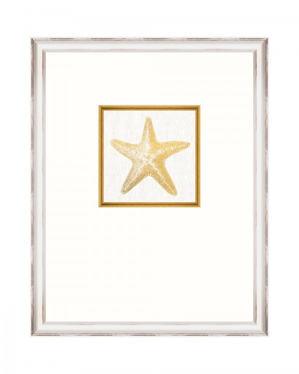 STARFISH Framed Linen