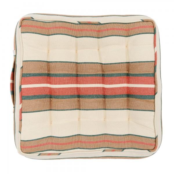HERINA STRIPE Linen Chair Cushion