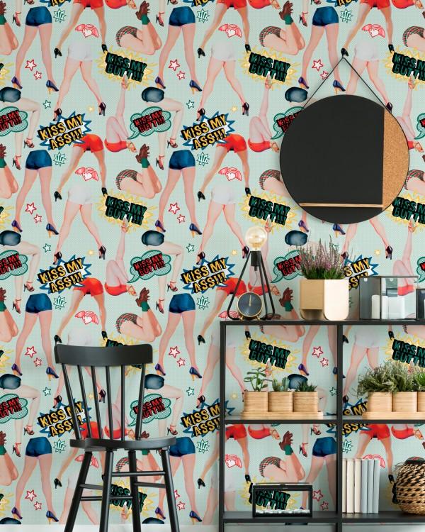 KISS MY ASS Wallpaper