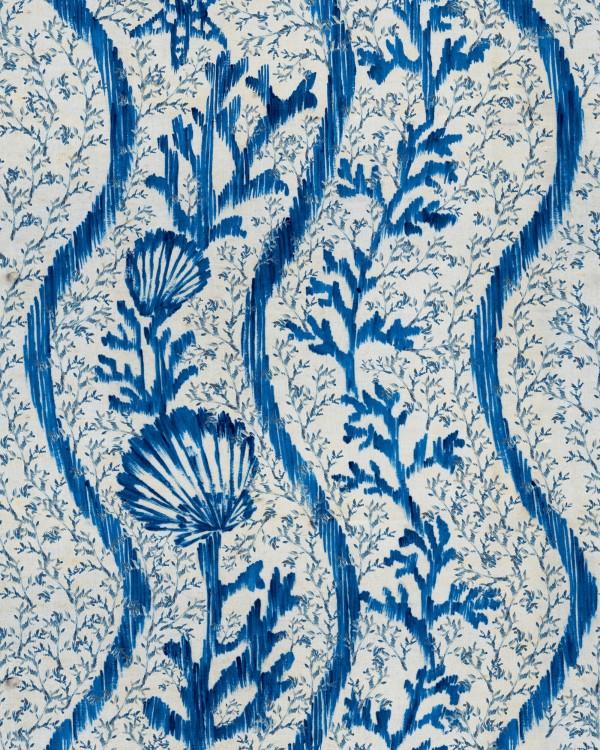 KORALION Indigo Wallpaper