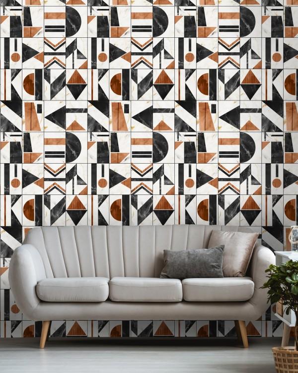 SOHO Copper Wallpaper